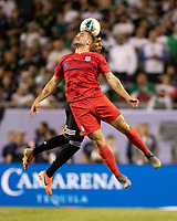 CHICAGO, IL - JULY 7: Jordan Morris #11 during a game between Mexico and USMNT at Soldiers Field on July 7, 2019 in Chicago, Illinois.
