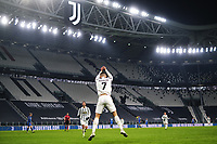 Cristiano Ronaldo of Juventus FC celebrates after scoring the goal of 3-0 during the Serie A football match between Juventus FC and Udinese Calcio at Juventus stadium in Torino  (Italy), January, 3rd 2021.  Photo Federico Tardito / Insidefoto