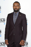 """David Oyelowo<br /> at the London Film Festival photocall for the opening film, """"A United Kingdom"""", Mayfair HotelLondon.<br /> <br /> <br /> ©Ash Knotek  D3159  05/10/2016"""