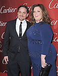 Ben Falcone and Melissa McCarthy attends the 2012 Palm Springs International Film Festival Awards Gala held at The Palm Springs Convention Center in Palm Springs, California on January 07,2012                                                                               © 2012 Hollywood Press Agency