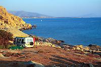 - Naxos island (Cyclades), cape Mikri Vigla..- isola di Naxos (Cicladi),  la punta di Mikri Vigla