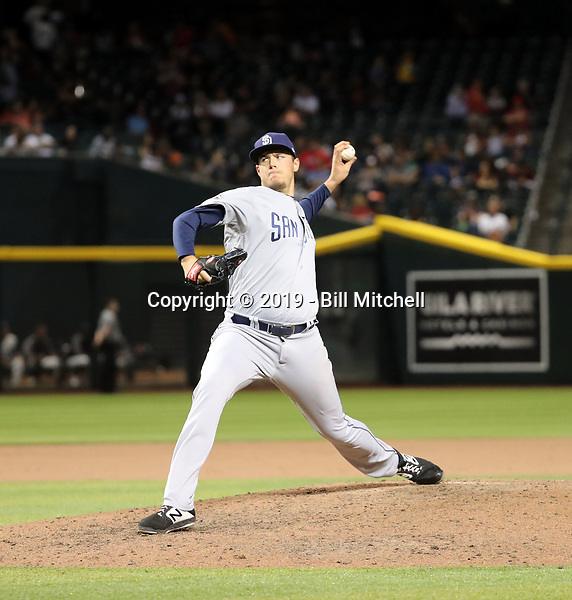 Brad Wieck - 2019 San Diego Padres (Bill Mitchell)