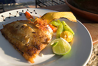 Guatemala, Restaurant im Hotel  Atitlan am Atitlan-See