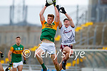 Tommy Walsh, Kerry in action against Cathal Sweeney, Galway during the Allianz Football League Division 1 South Round 1 match between Kerry and Galway at Austin Stack Park in Tralee.