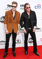 LAS VEGAS, NV, USA - MAY 18: Brian Kelley, Tyler Hubbard, Florida Georgia Line at the Billboard Music Awards 2014 held at the MGM Grand Garden Arena on May 18, 2014 in Las Vegas, Nevada, United States. (Photo by Xavier Collin/Celebrity Monitor)