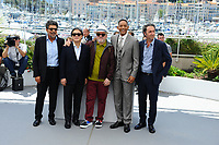 WILL SMITH - PARK CHAN-WOOK - GABRIEL YARED - PAOLO SORRENTINO - PEDRO ALMODOVAR - CANNES 2017 - PHOTOCALL DU JURY