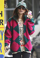 NEW YORK, NY- June 03: Emily Ratajkowski seen speaking to someone on her iPhone in Soho in New York City on June 03, 2021. Credit: RW/MediaPunch<br /> CAP/MPI/RW<br /> ©RW/MPI/Capital Pictures