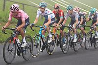 22nd May 2021, Monte Zoncolan, Italy; Giro d'Italia, Tour of Italy, route stage 14, Cittadella to Monte Zoncolan; Egan Bernal (Ineos Grenadiers) COL, 41 VLASOV Aleksandr RUS