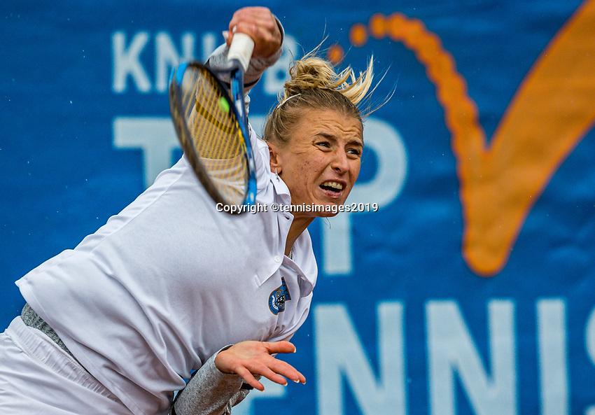 Zandvoort, Netherlands, 8 June, 2019, Tennis, Play-Offs Competition, Valentyna Ivakhnenko (RUS)<br /> Photo: Henk Koster/tennisimages.com