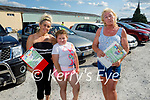 Ready for Drive In bingo in Castleisland on Saturday, l to r: Margaret and Katelyn McDonnagh and Nellie Mongans