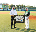 A few images from Tulane men's tennis victory over Xavier, Rick Jones honored for 1,000 win in baseball, and Tulane men's baseball in defeat versus South Alabama.  Coverage from just a few hours on April 13th.