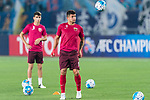 Shanghai FC Forward Elkeson De Oliveira Cardoso on his warming up session for the AFC Champions League 2017 Round of 16 match between Jiangsu FC (CHN) vs Shanghai SIPG FC (CHN) at the Nanjing Olympic Stadium on 31 May 2017 in Nanjing, China. Photo by Marcio Rodrigo Machado / Power Sport Images