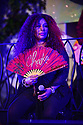MIAMI, FL - MAY 08: Chaka Khan performs live on stage during a social distance open air evening under the stars 'From Be Bop 2 Hip Hop' with Dinner Supper Club setting uniquely created by celebrity chefs Georgios Di Vogi of Georgios Santorini and Food Network celebrity chef Jernard Wells at the Historic Hampton House on May 8, 2021 in Miami, Florida.   ( Photo by Johnny Louis / jlnphotography.com )
