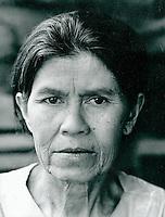 Frau in Thailand 1972