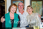 Enjoying the evening in the Brogue Inn on Friday, l to r: Valerie and John Higgins and Jean Connors from Tralee.