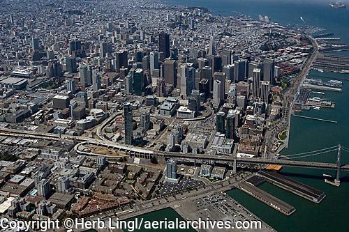 aerial photograph South Beach, San Francisco, California