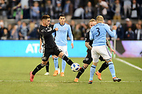 Kansas City, Kansas - March 04, 2018: New York City F.C. defeated Sporting Kansas City 2-0 in the season opener at Children's Mercy Park.