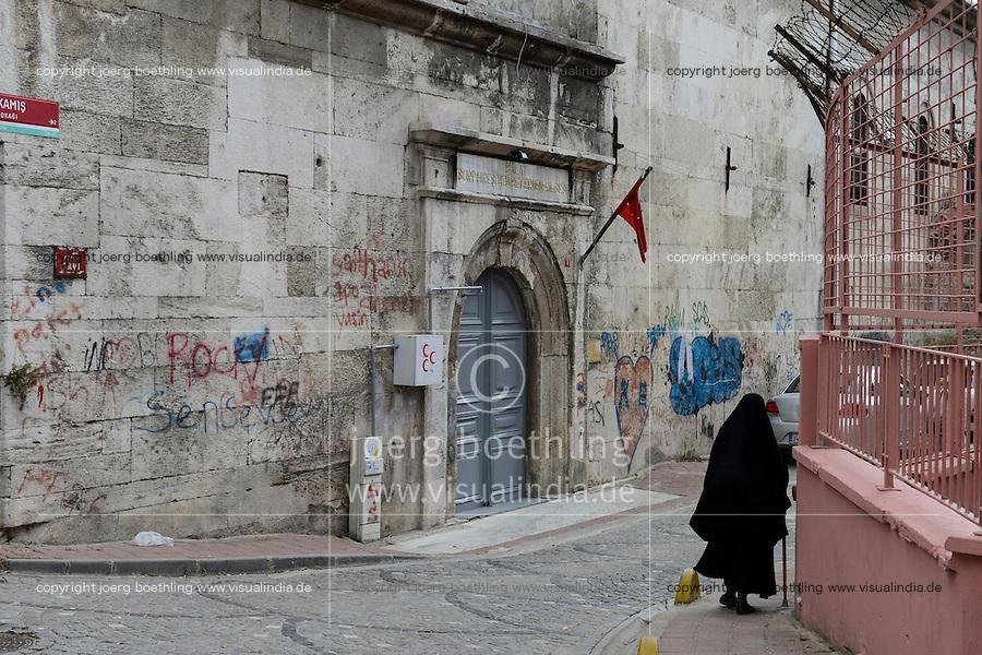 TURKEY Istanbul, armenian church Surp Hresdogabed Kilisesi in Balat / TUERKEI Istanbul, armenische Kirche Surp Hreşdogabed Kilisesi im Stadtteil Balat