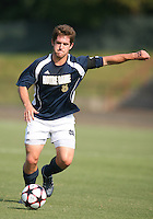 04 September 2009: Michael Thomas #8 of the University of Notre Dame  University makes a pass during an Adidas Soccer Classic match against Wake Forest at the University of Indiana in Bloomington, In. The game ended in a 1-1 tie..