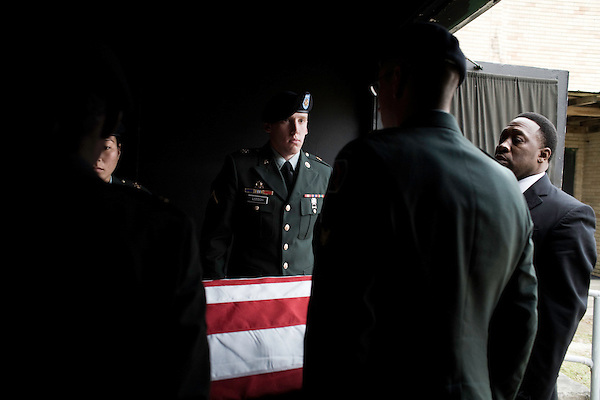 March 22, 2008. Greenvile NC..A funeral was held for Staff Sergeant Juantrea Bradley Sr., a member of the 7th Special Troops Battalion, 7th Sustainment Brigade, 10th Mountain Division who was killed on March 12, 2008 by indirect enemy fire near Tallil, Iraq. He is survived by a wife and 4 children.