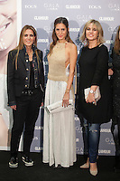 Rosa Tous and Gala Gonzalez pose for the photographers during TOUS presentation in Madrid, Spain. January 21, 2015. (ALTERPHOTOS/Victor Blanco) /NortePhoto<br /> NortePhoto.com