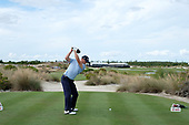Justin Thomas during the second round of the 2018 Hero World Challenge being played at The Albany Resort, Bahamas.<br />  Picture Stuart Adams, www.golftourimages.com: \30/11/2018\