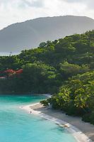 Trunk Bay morning<br /> St. John<br /> Virgin Islands National Park<br /> US Virgin Islands