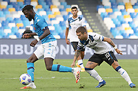 Tiemoue Bakayoko of SSC Napoli and Alejandro Dario Gomez of Atalanta BC compete for the ball<br /> during the Serie A football match between SSC Napoli and Atalanta BC at stadio San Paolo in Napoli (Italy), October 17th, 2020. <br /> Photo Cesare Purini / Insidefoto