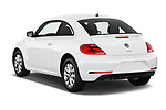 Car pictures of rear three quarter view of a 2019 Volkswagen Beetle S 5 Door Hatchback angular rear