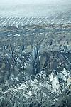 Yukon Scenic Aerial Of Glacier