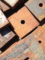 Metal Clamps, Castine, Maine, US