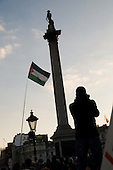 London march and rally, called by the Palestine Solidarity Campaign, Stop the War Coalition, British Muslim Initiative and other organisations, to protest at the Israeli bombing of Gaza.