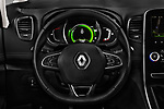Car pictures of steering wheel view of a 2017 Renault Scenic Intens 5 Door Minivan Steering Wheel