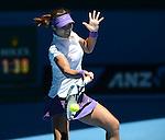 LI NA (CHN) wins at Australian Open in Melbourne Australia on 21st January 2013