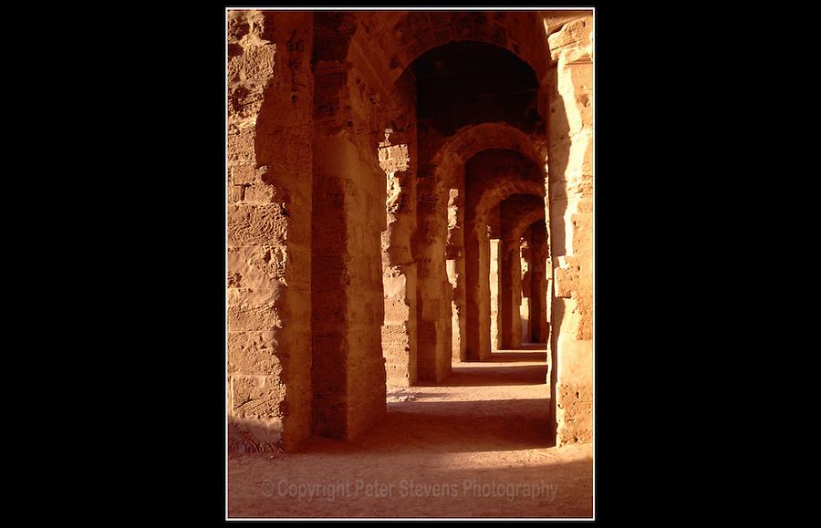 Roman Amphitheatre - El Djem - Tunisia - November 1994