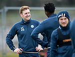 St Johnstone Training…25.02.18<br />Liam Craig pictured talking with Matty Willock during training at McDiarmid Park ahead of the Rangers game<br />Picture by Graeme Hart.<br />Copyright Perthshire Picture Agency<br />Tel: 01738 623350  Mobile: 07990 594431