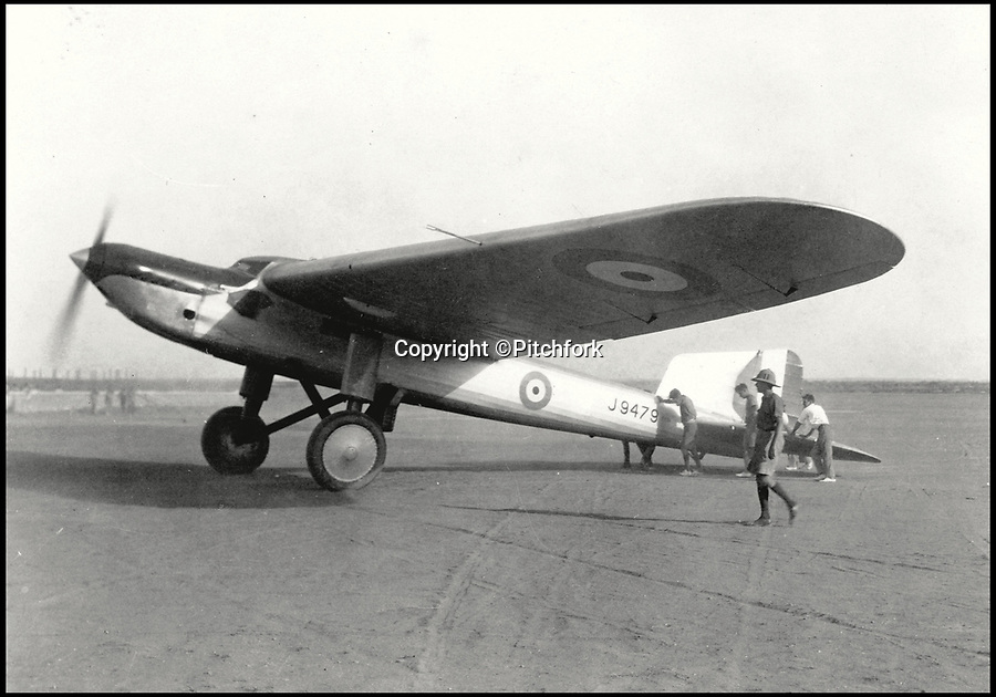 BNPS.co.uk (01202)558833Pic: Pitchfork/BNPS<br /> <br /> The Fairey Long Range Monoplane which was flown for an attempt on the world long-distance record with a flight from London to Karachi in April 1929.<br /> <br /> These breathtaking photos capture in all its glory the storied history of the mighty Royal Air Force which has defended our shores for 100 years.<br /> <br /> Former fighter pilot Michael Napier celebrates the accomplishments of the world's first independent air force in his new book The Royal Air Force, A Centenary of Operations.<br /> <br /> He reflects on the momentous Battle of Britain where 'the Few' stood up to the dreaded Luftwaffe and also lesser-known humanitarian operations in far-flung parts of the world where the RAF 'dropped food, not bombs'.