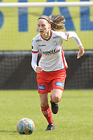 Sheryl Merchiers (11) of Zulte Waregem pictured during a female soccer game between Eendracht Aalst and SV Zulte Waregem on the fourth matchday of play off 2 of the 2020 - 2021 season of Belgian Scooore Womens Super League , Saturday 1 st of May 2021  in Aalst , Belgium . PHOTO SPORTPIX.BE | SPP | DIRK VUYLSTEKE