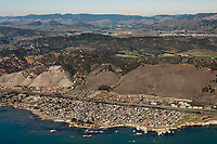 aerial photograph of Shell Beach, San Luis Obispo County, California