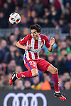 Nicolas Gaitan of Atletico de Madrid in action during their Copa del Rey 2016-17 Semi-final match between FC Barcelona and Atletico de Madrid at the Camp Nou on 07 February 2017 in Barcelona, Spain. Photo by Diego Gonzalez Souto / Power Sport Images