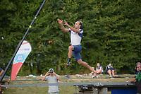 FIERLJEPPEN: WINSUM: 21-07-2018, ©foto Martin de Jong