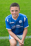 St Johnstone FC Academy Under 13's<br /> Ryan Ndogaj<br /> Picture by Graeme Hart.<br /> Copyright Perthshire Picture Agency<br /> Tel: 01738 623350  Mobile: 07990 594431