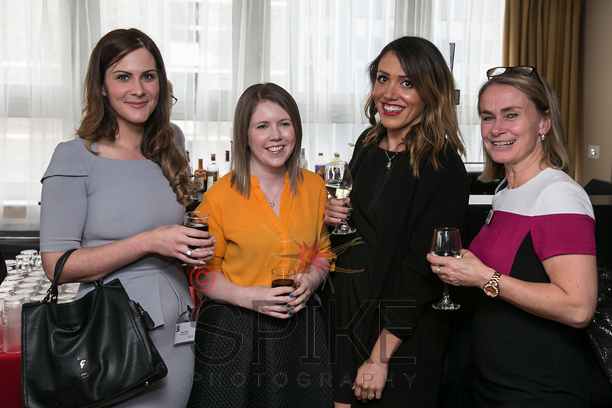 Pictured from left are Masa Prastalo and Laura Evans both of Your HR Lawyer, Sarah Fry of Kinetik Fitness and Nicola Burley of National Justice Museum