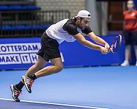Rotterdam, Netherlands, December 13, 2016, Topsportcentrum, Lotto NK Tennis,   Sidney de Boer (NED) <br /> Photo: Tennisimages/Henk Koster