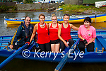 The Sneem senior ladies crew still on a winning run at the Sive Regatta on Saturday taking first place were l-r; Adrian Fitzgerald(cox), Geraldine Breen, Delia Murphy, Paula Moloney & Eileen Cremin.  Sive finished in second with Callinafercy in third place.