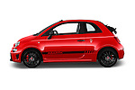 Car Driver side profile view of a 2016 Abarth 595 Competizione 2 Door Convertible Side View