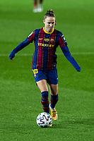 6th January 2021; Camp Nou, Barcelona, Spain. La Liga Womens league football FC Barcelona versus Rcd Espanyol; 16 Caroline Graham Hansen during the Liga Iberdrola match between FCBarcelona and RCD Espanyol