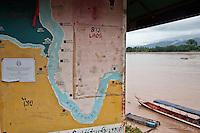 Le Triangle d'or, au Nord de la Thaïlande, à la frontière entre Birmanie, Laos, Chine et Thaïlande
