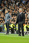 Real Madrid´s coach Carlo Ancelotti during 2014-15 Champions League match between Real Madrid and FC Shalke 04 at Santiago Bernabeu stadium in Madrid, Spain. March 10, 2015. (ALTERPHOTOS/Luis Fernandez)