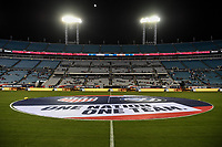JACKSONVILLE, FL - NOVEMBER 10: TIAA Bank Field during a game between Costa Rica and USWNT at TIAA Bank Field on November 10, 2019 in Jacksonville, Florida.